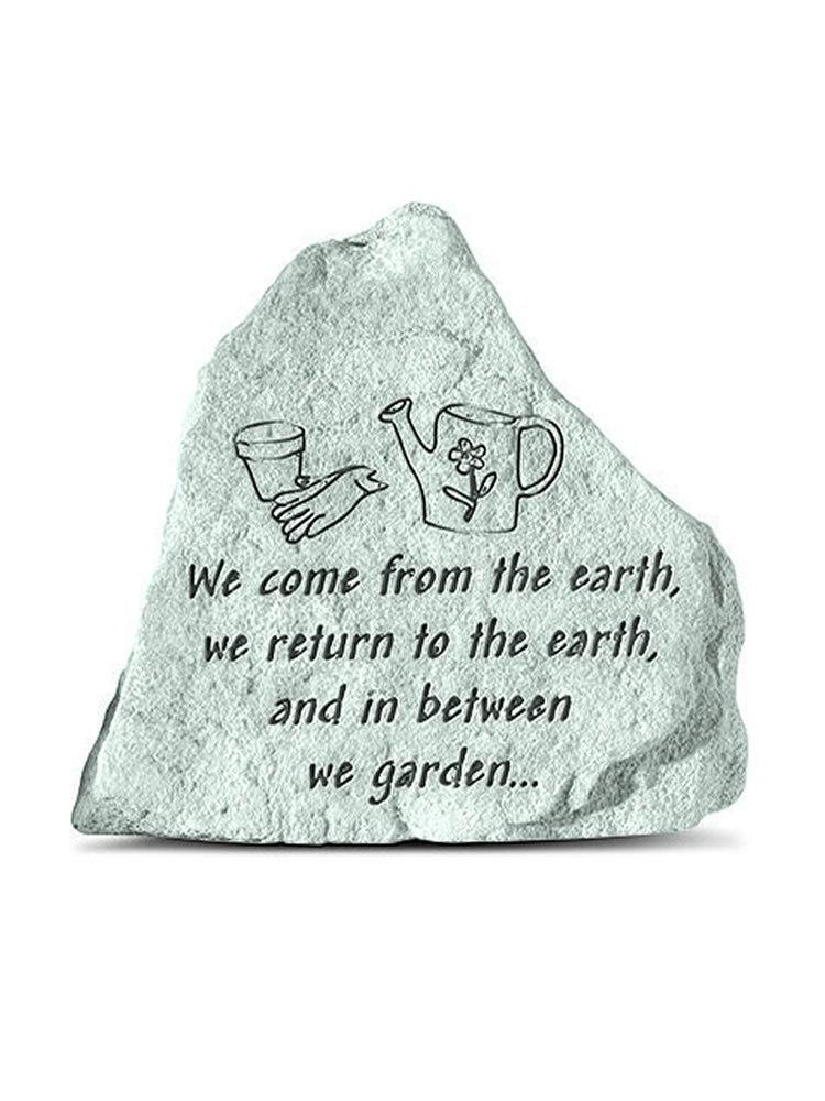 We Come From the Earth Mini Garden Stone/Plaque