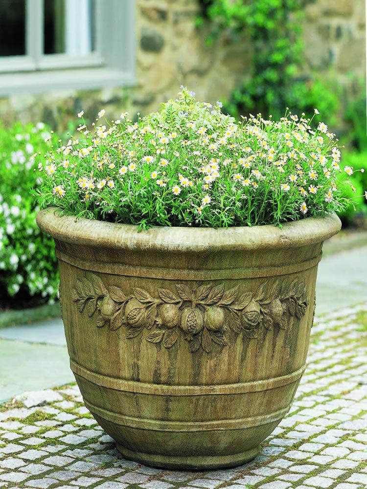 Round Pomegranate Planter