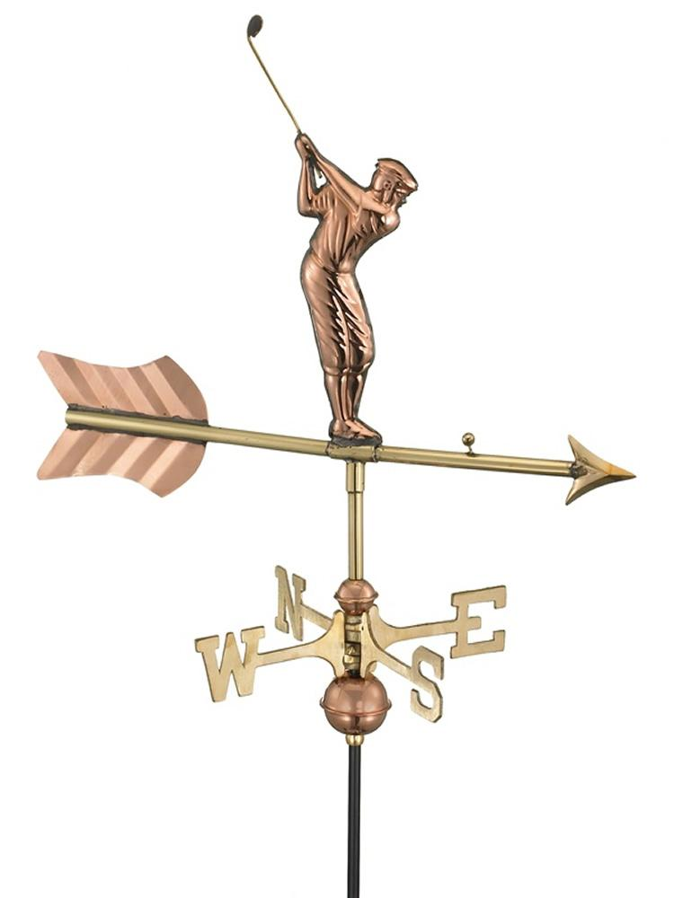 Gone Golfing Garden Weather Vane