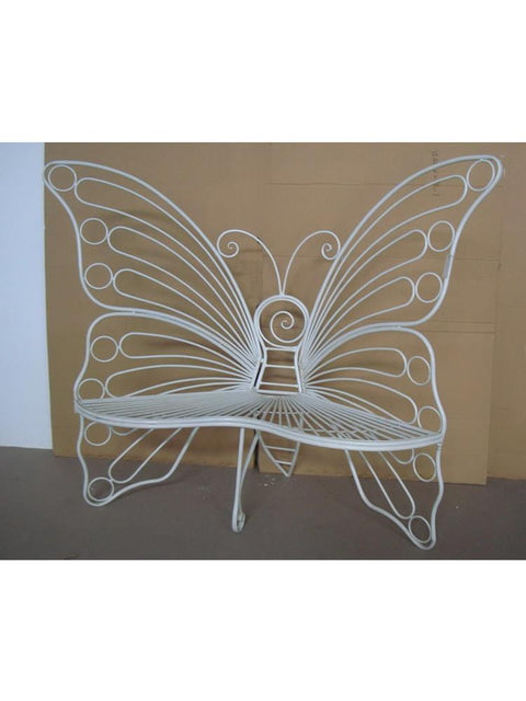 Oversized Butterfly Chair in White