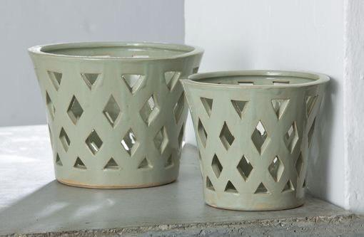 Gwyneth Small Planter  - Linen Sage