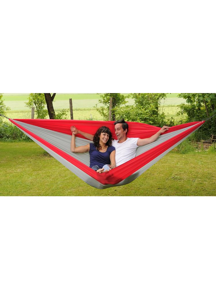 Traveller Double Hammock Red