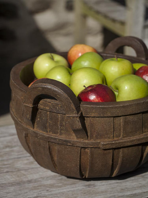 Apple Basket Planter, Small