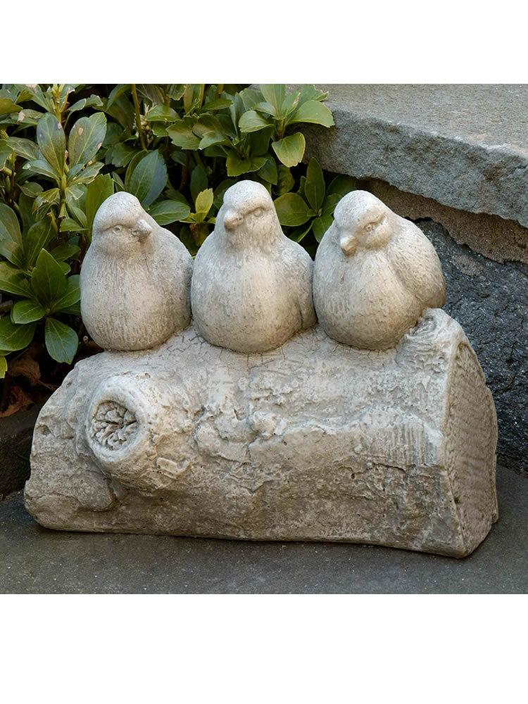 Three's a Crowd Garden Statue