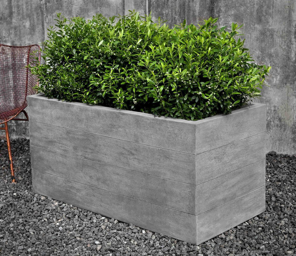Chênes Brut Long Box Planter