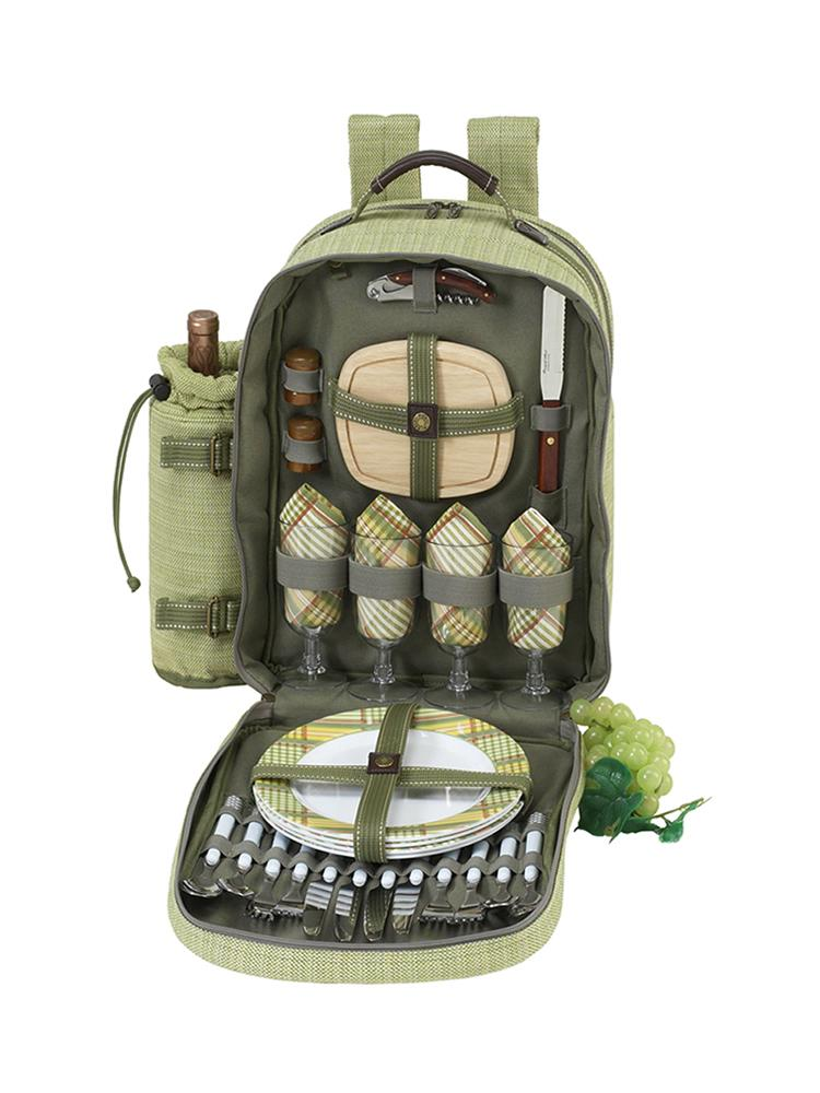 Hamptons Picnic Backpack for Four