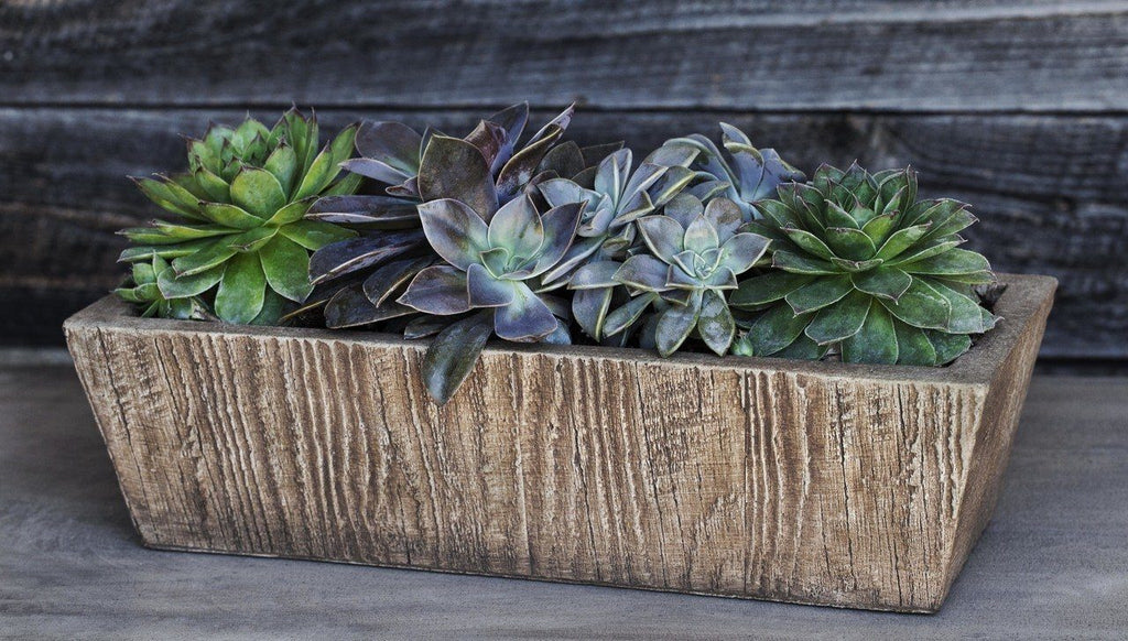 Barn Board Tapered Trough, Small