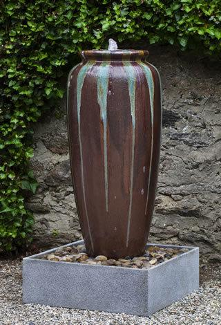 Lago Jar Fountain  - Art Pottery