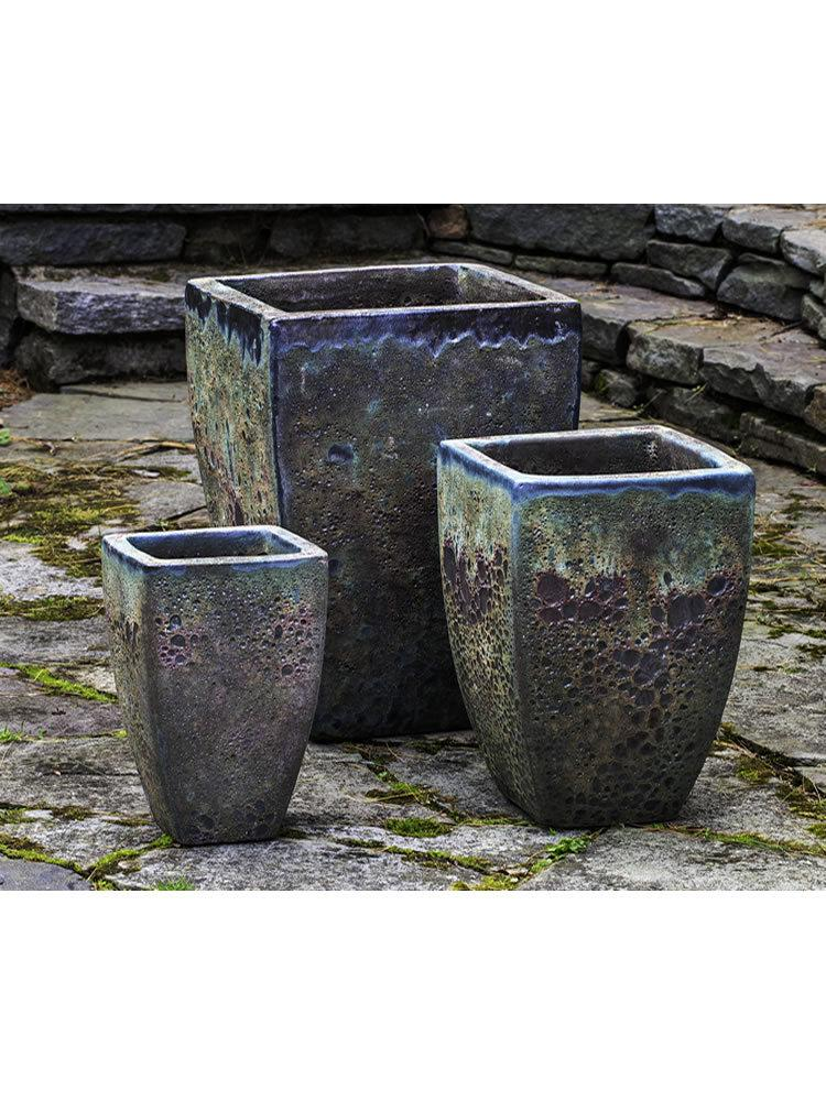 Banteay Planter Set of Three in Angkor Green Mist