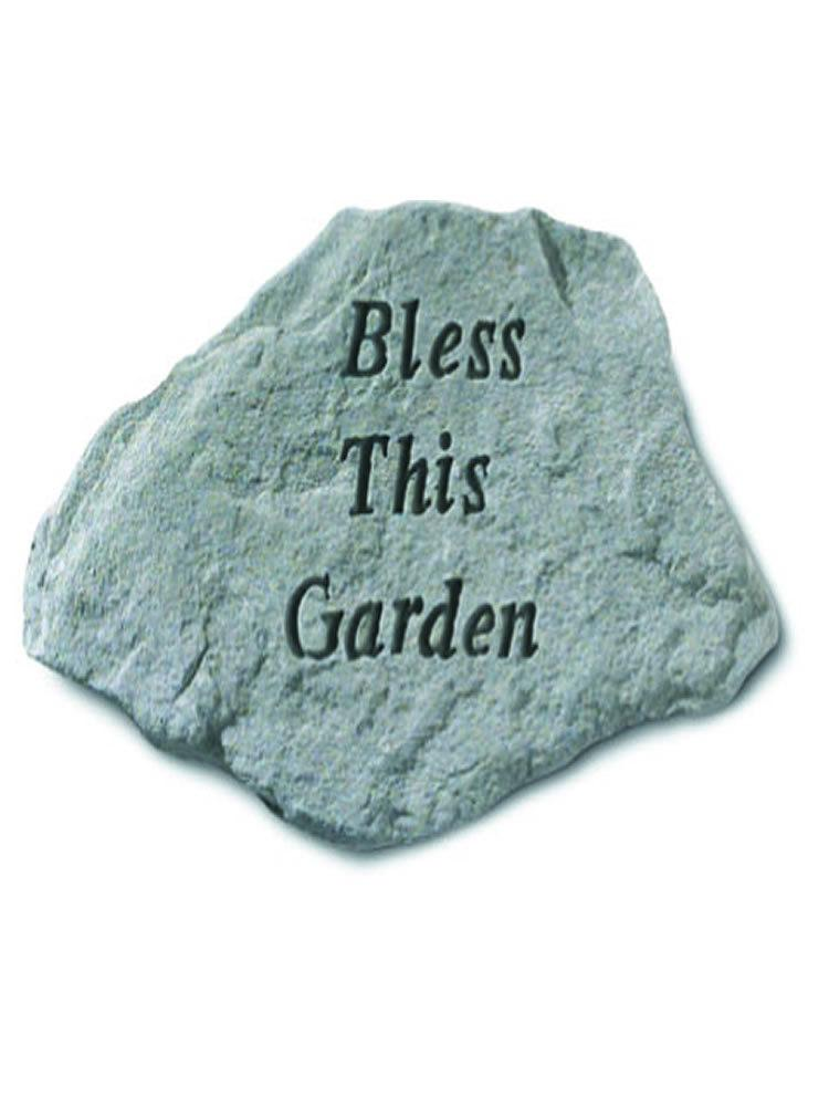 Bless This Garden Stone Plaque
