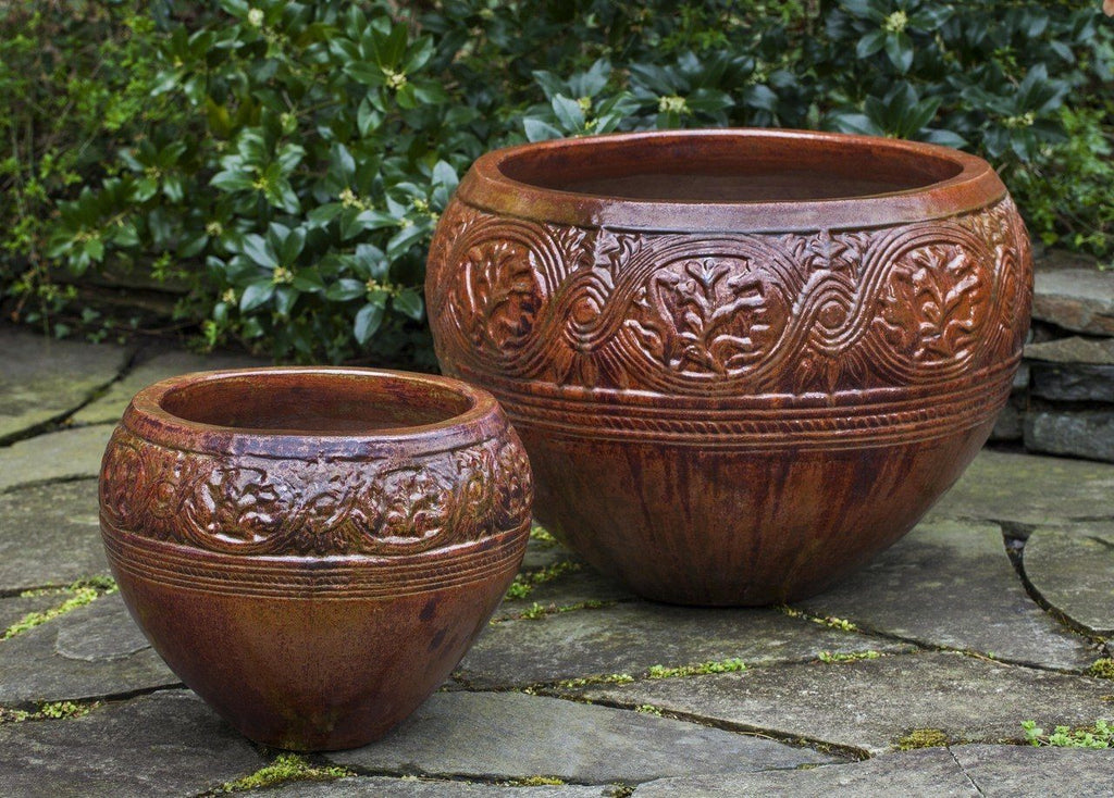 Mandalay Planter in Sunset Red