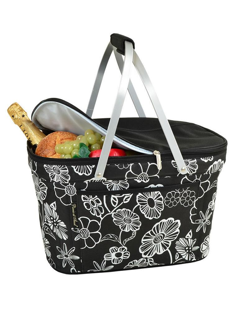 Collapsible Insulated Basket -Night Bloom
