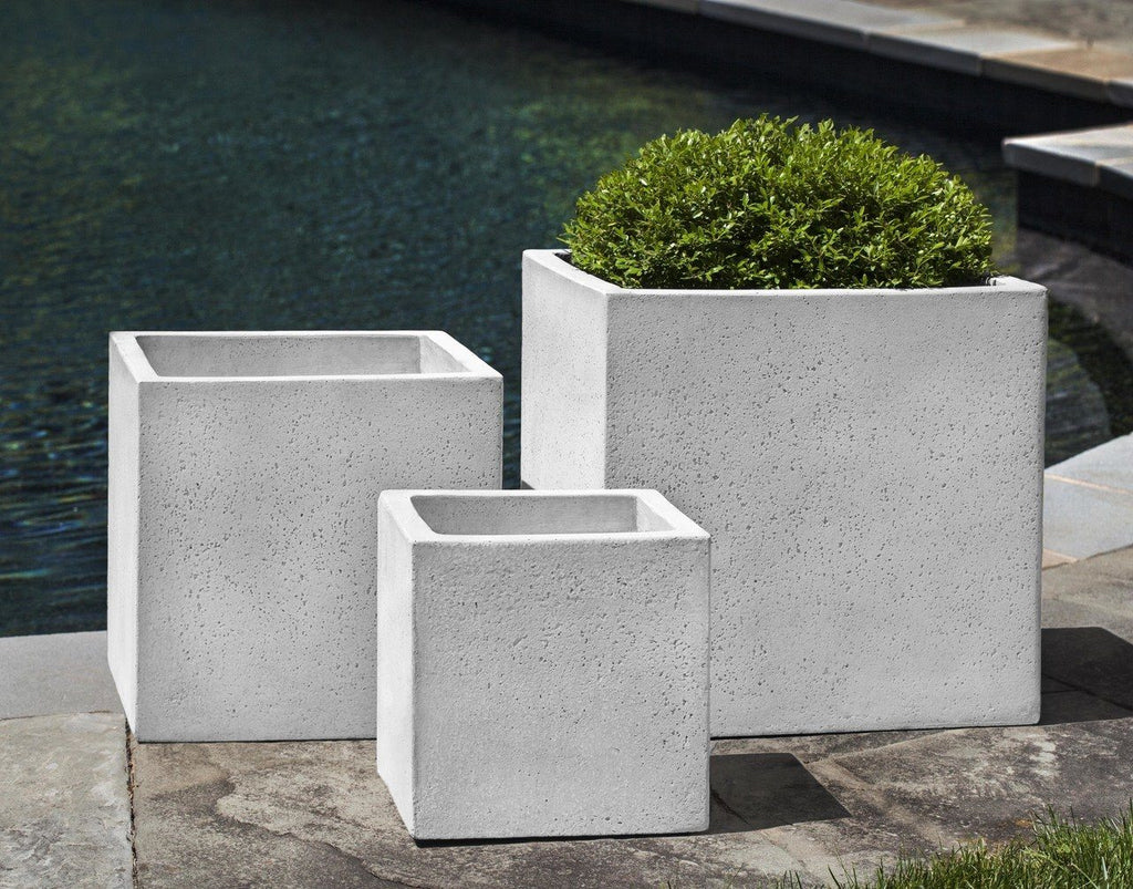 Laguna Square Planter - Playa Blanca