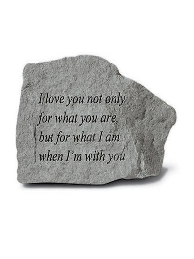 When I'm With You Mini Garden Stone/Plaque