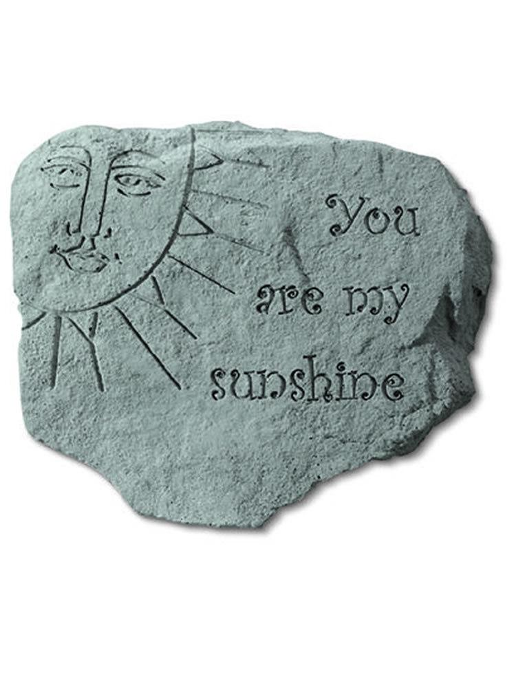 You Are My Sunshine Garden Accent Rock