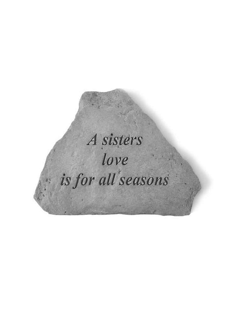 A Sister's Love Mini Garden Stone/Plaque