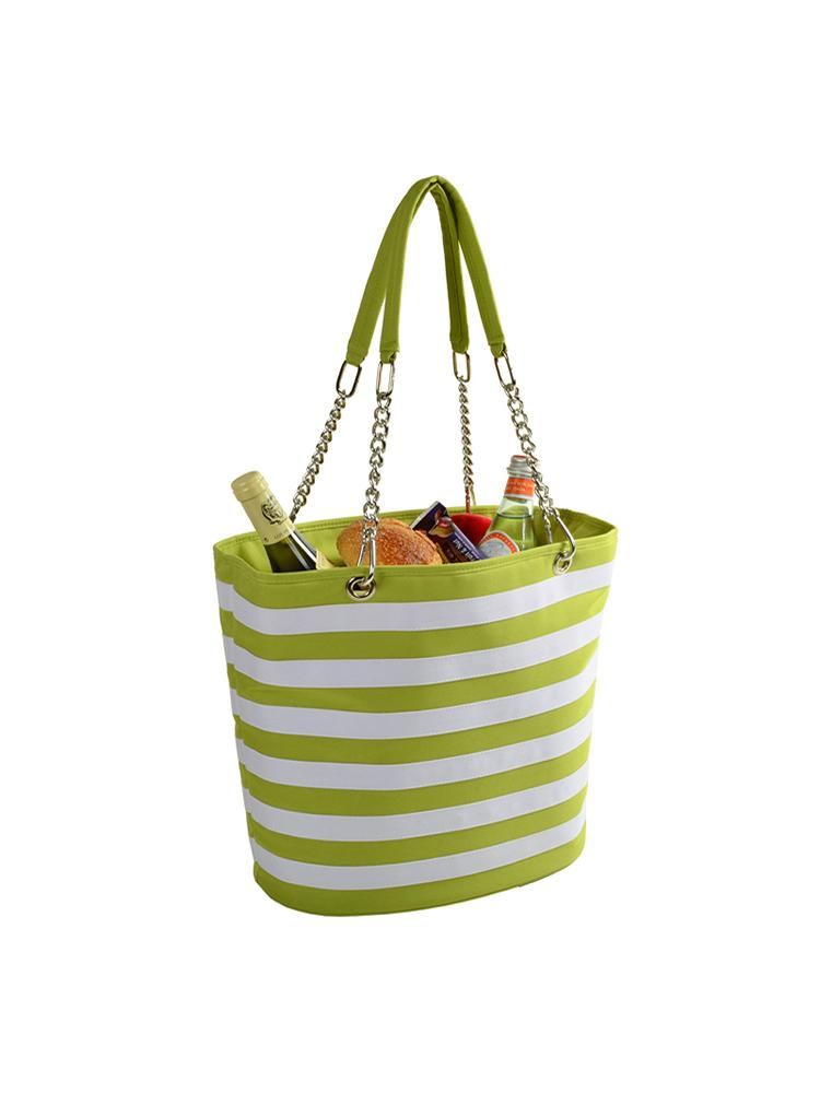 Insulated Cooler Tote w/chain handle