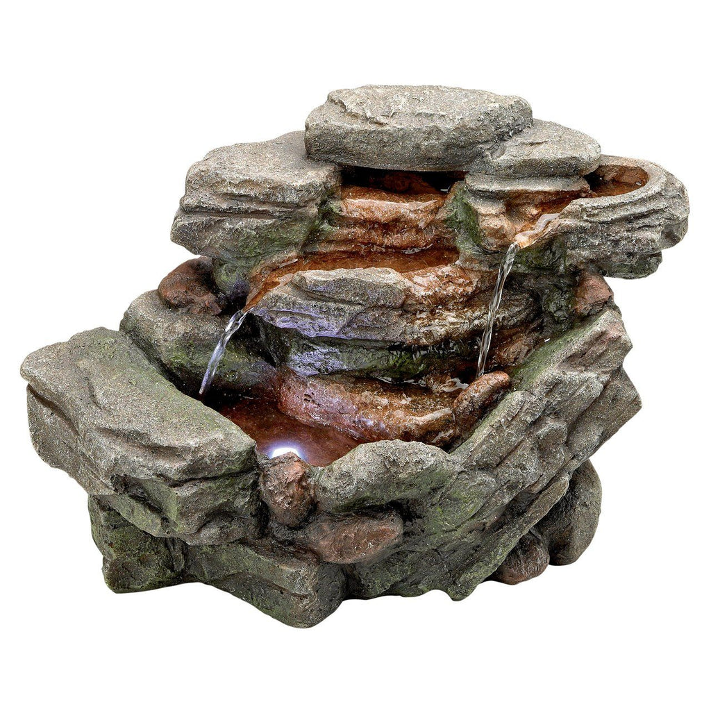 Slated Rock Cascading Fountain