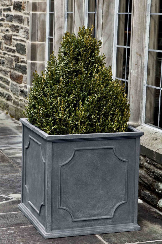 "Large 22"" Cumberland Square Planter-Lead"