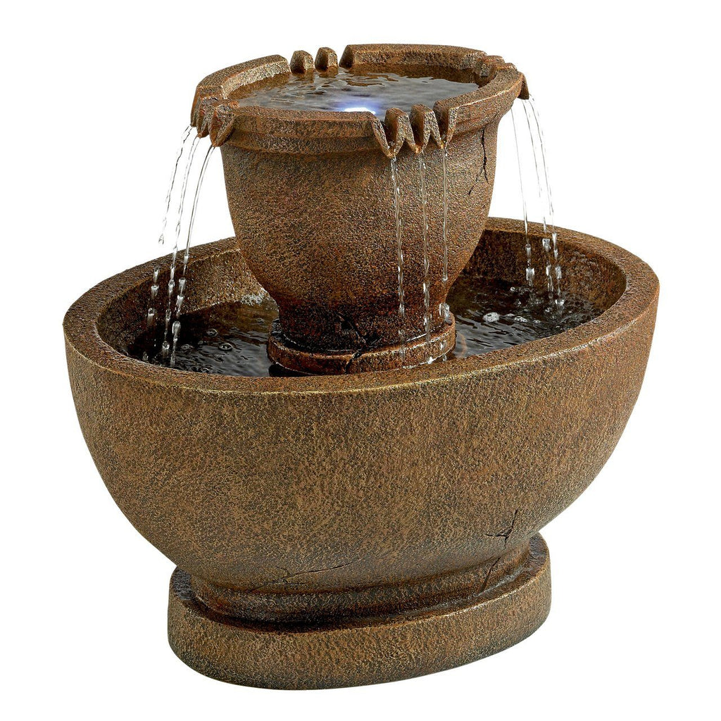 Richardson Oval Urns Fountain: Large