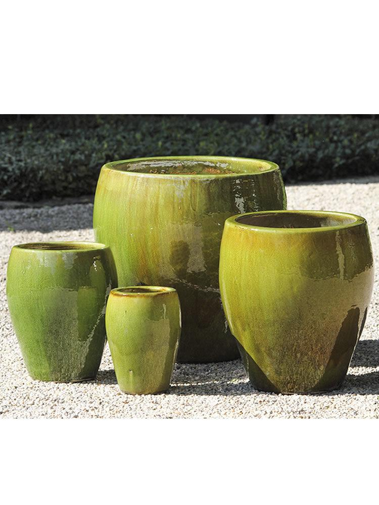 Chantal Planter Set of 4 in Highland Moss