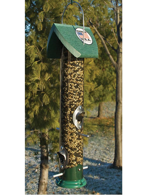 Tall Clear Mixed Seed Feeder
