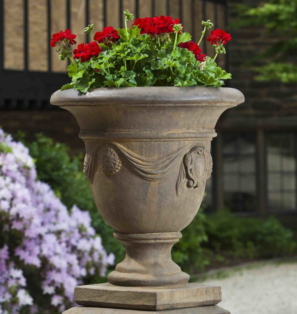 Set of 2 Tivoli Urns with FREE Plants