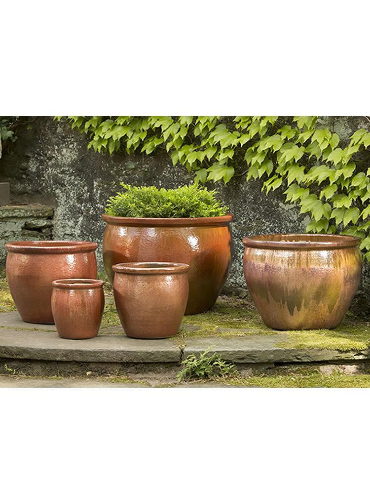 Mirador Planter Set of 5 in Cayenne