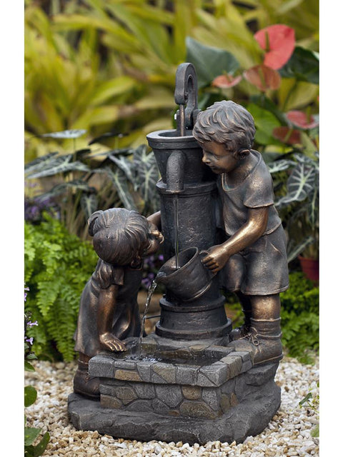 Water Pump and Kids Water Fountain with LED light