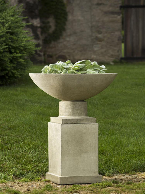 Savoy Planter with Pedestal