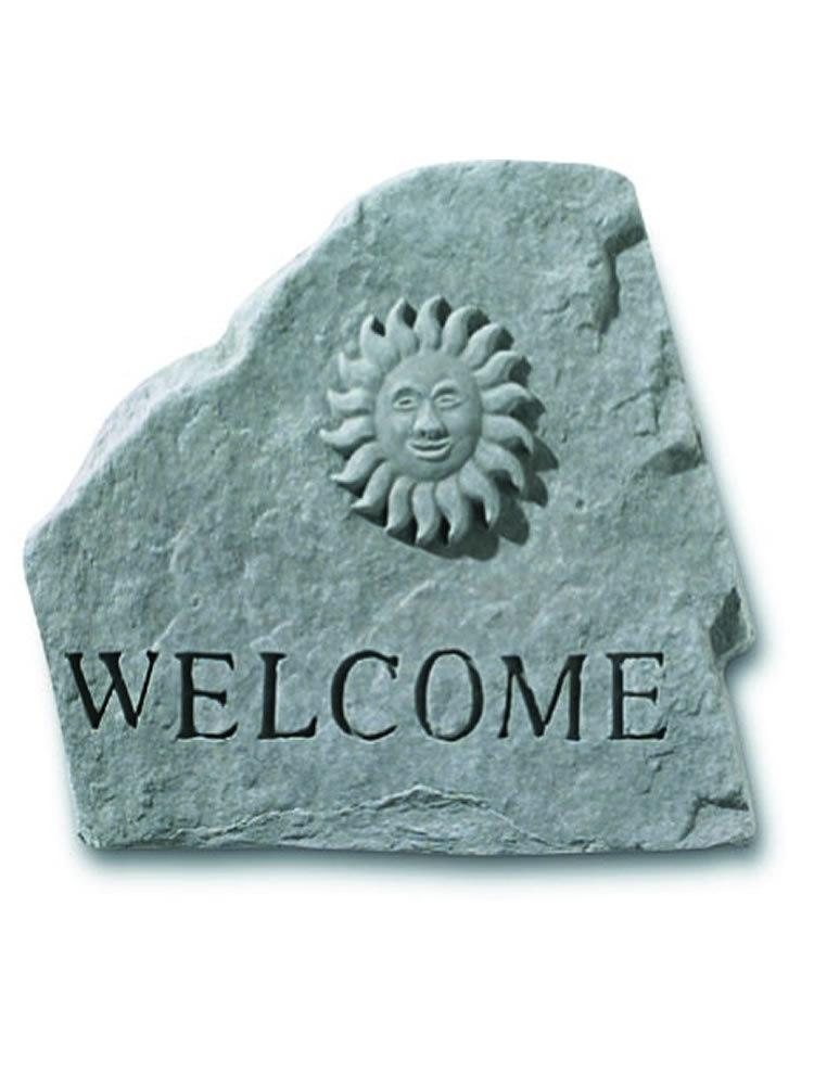 Sun Welcome Stone Plaque