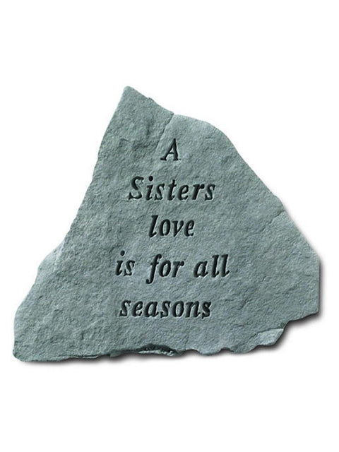 A Sister's Love Stone Plaque