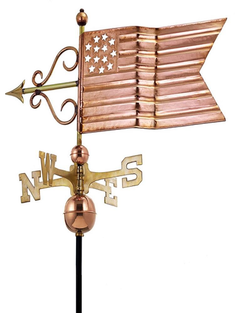 Patriotic Standard Weather Vane