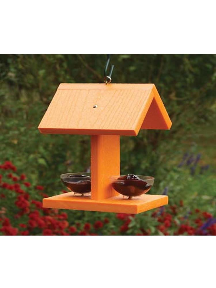 Oriole Feeder With Jelly Jars - Going Green