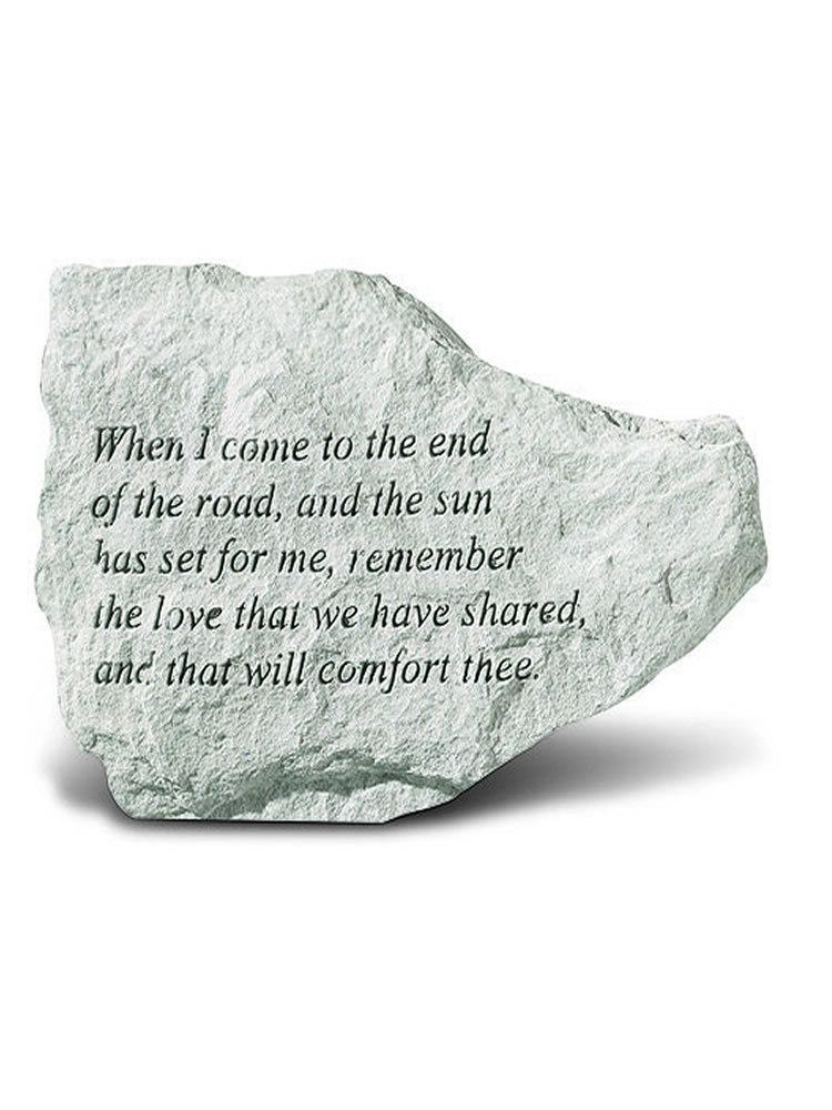 The End of the Road Mini Garden Stone/Plaque