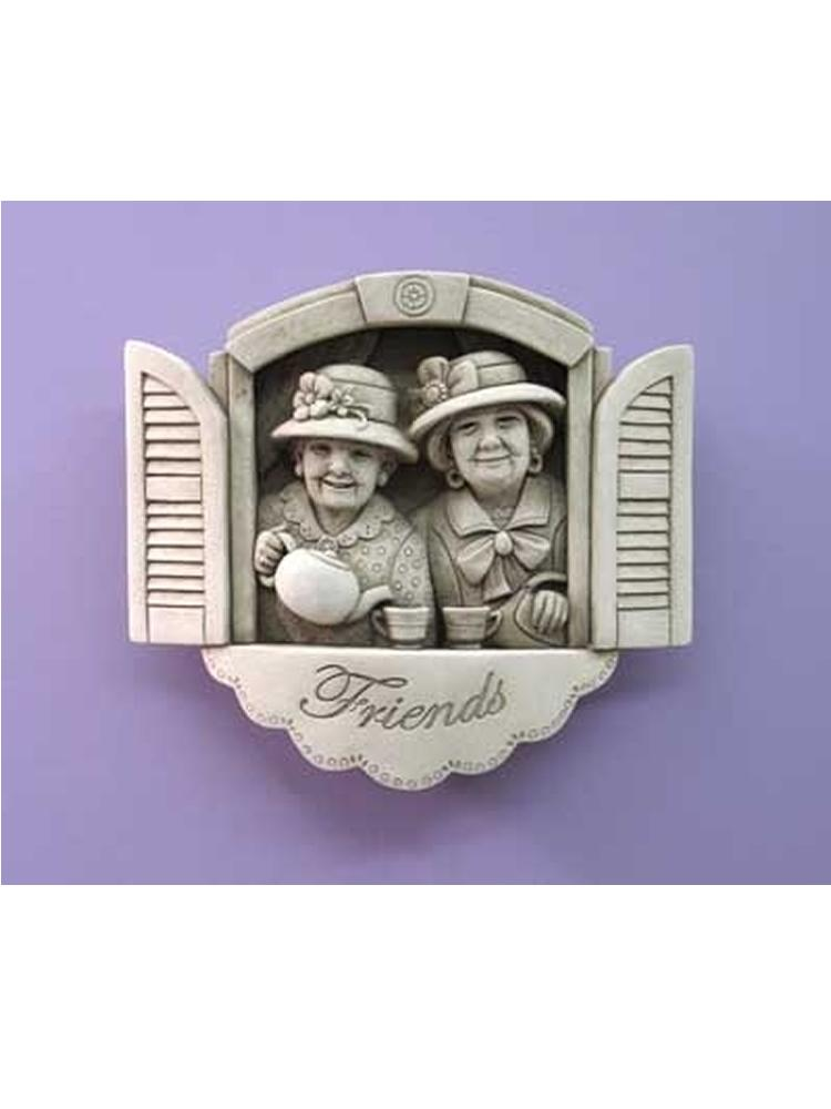 Tea Time Friends Plaque