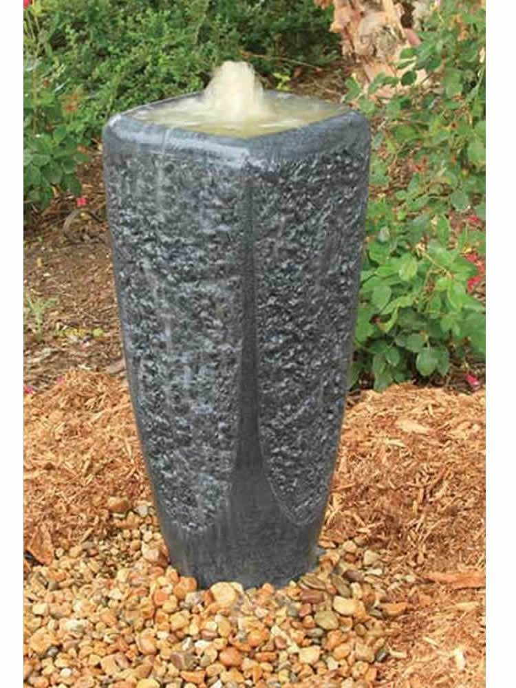 Large Gray Ripple Fountain Kit