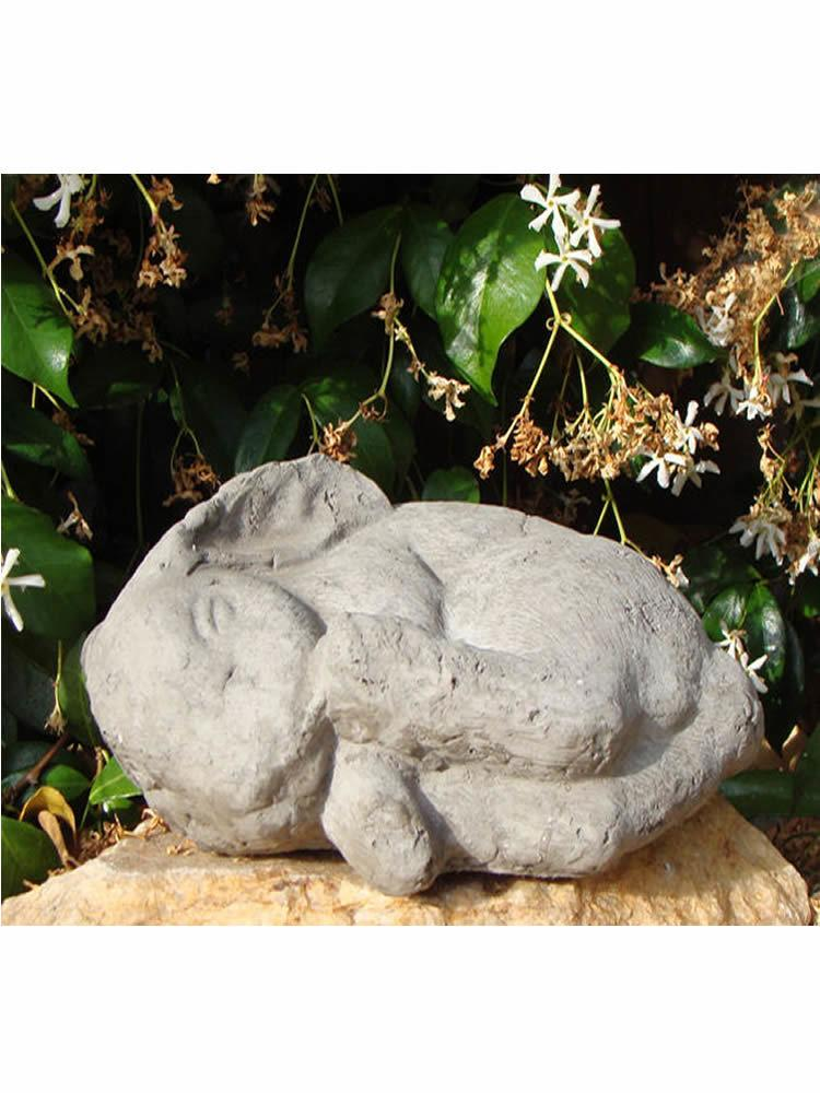 Primitive Sleeping Bunny