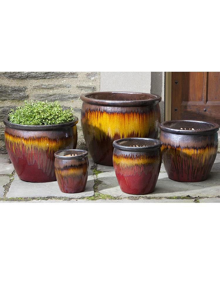 Mirador Planter Set of Five in Sierra