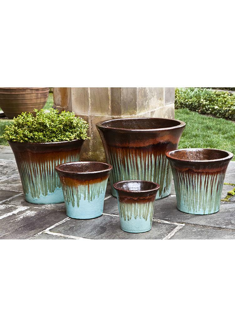 Delphine Planter Set of 5 in Glacier