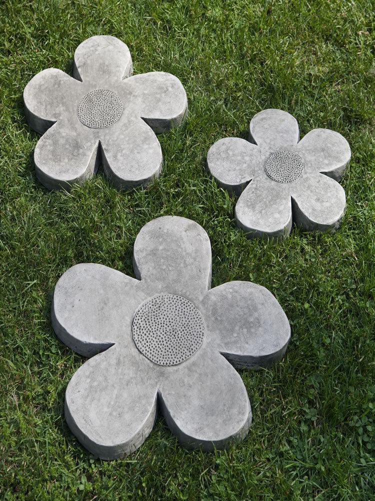 Flower Power Stepping Stone Set
