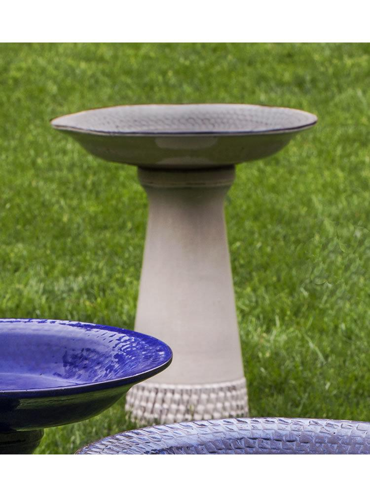 Tattersall Birdbath in Cream