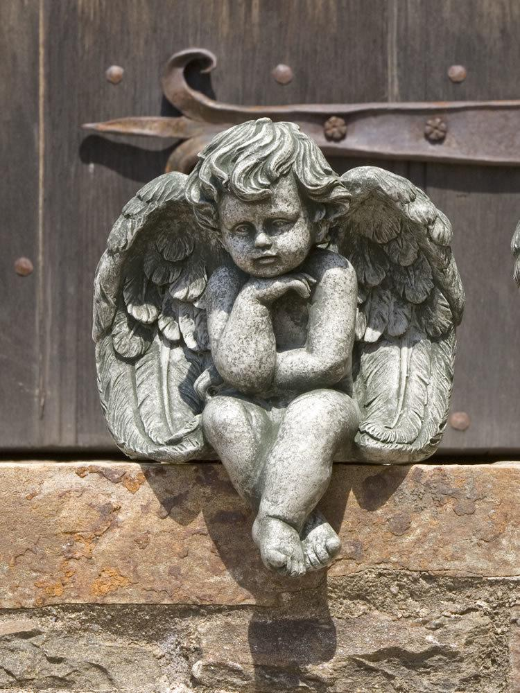 Angel Inspired Gifts And Cast Stone Garden Statuary: Campania  International: Seated Cherub, Small U2013 Garden Fountains.com