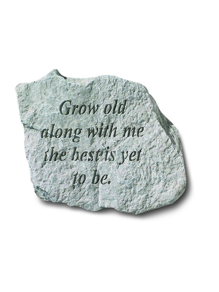 Grow Old Along With Me Mini Garden Stone/Plaque