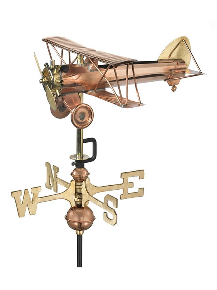 Flying Plane Garden Weather Vane