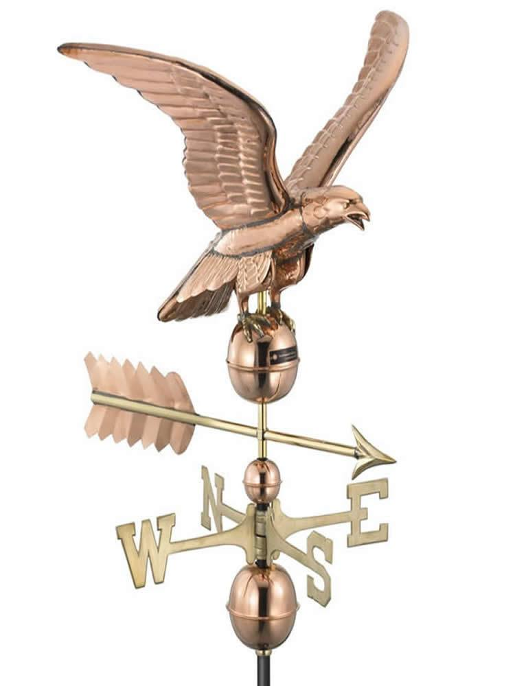 Flying Eagle Standard Weather Vane