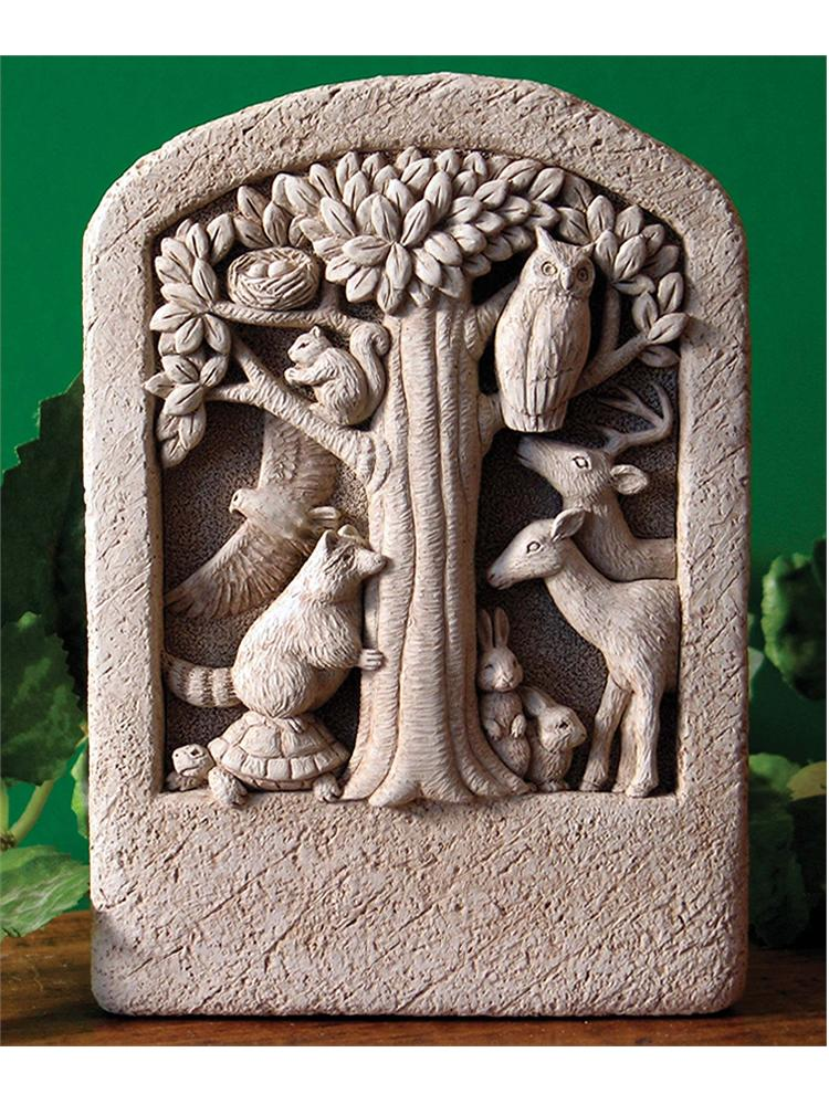 Forest Friends Plaque/Sculpture