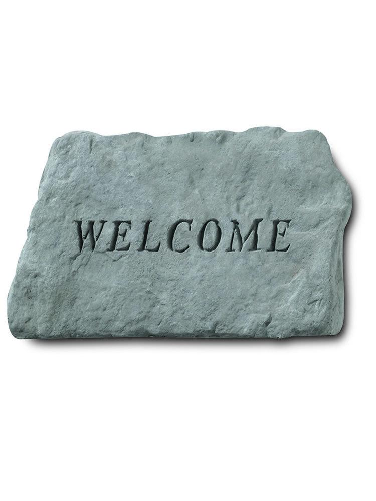 Welcome Garden Accent Rock