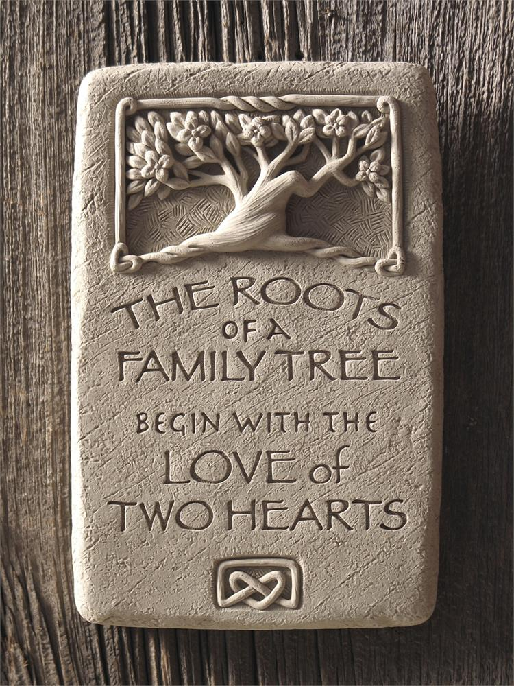 Roots of Love Vertical Plaque