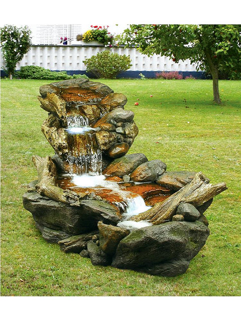 Forest Stream Waterfall Fountain